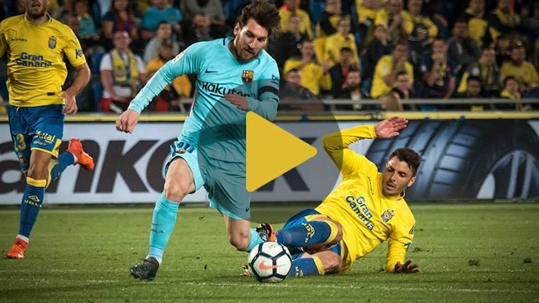 Vídeo resumen: Las Palmas 1 FC Barcelona 1 (LaLiga J26)