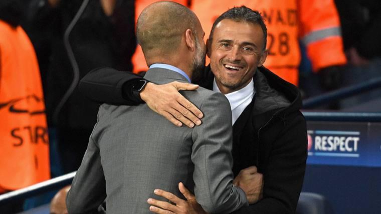 Pep Guardiola recomienda a Luis Enrique a la Premier League