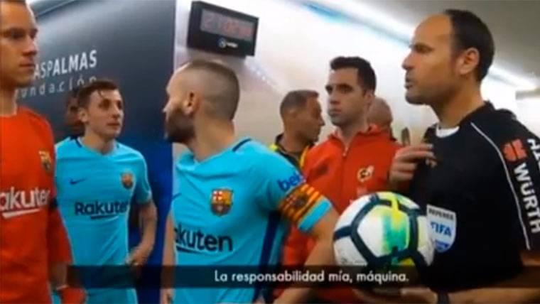 La lamentable reacción de Mateu Lahoz tras su error garrafal