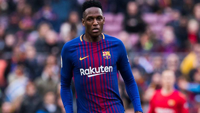 Yerry Mina Could Leave The Fc Barcelona To Final Of Season