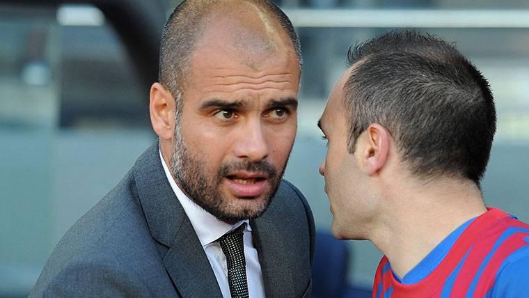 ¡Iniesta podría fichar por el Manchester City de Guardiola!