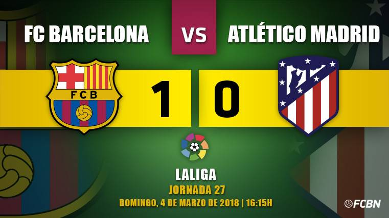 Messi pone el rugido de un Barça que sentencia LaLiga (1-0)