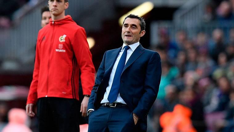 El tremendo enfado de Valverde con la grada del Camp Nou
