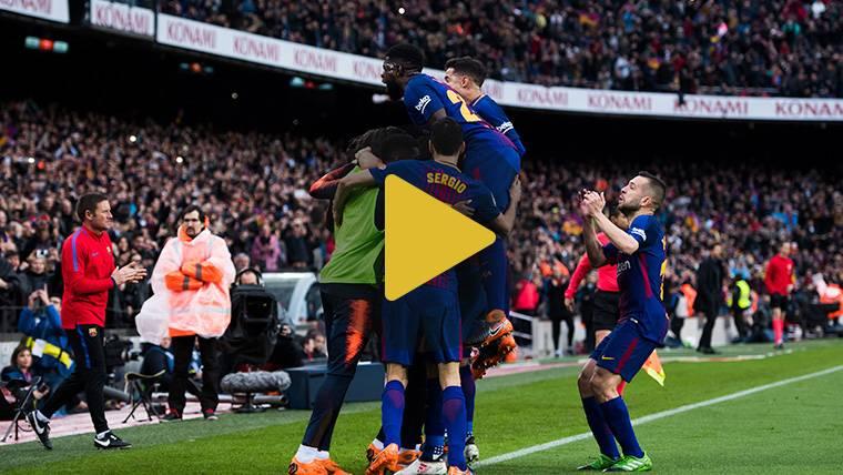 Vídeo resumen: FC Barcelona 1 Atlético 0 (LaLiga J27)