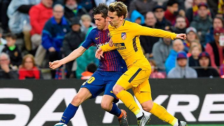 Los ocho puntos de ventaja, calma relativa para el Barça