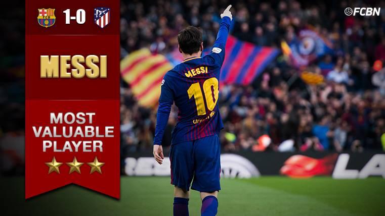 MVP: El equipo brilló y Messi hizo el resto con un gol de líder