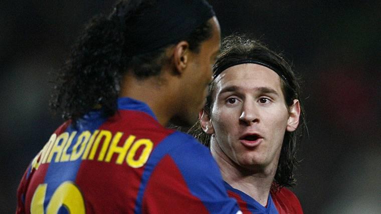 Messi tiene a tiro un récord de Ronaldinho en Liga con el Barça
