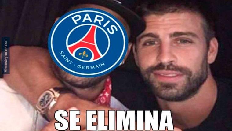 Estos son los mejores 'memes' del PSG-Madrid de Champions