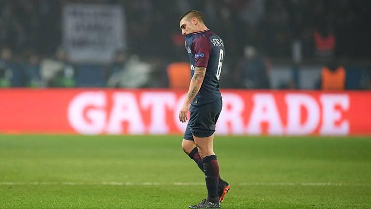 En Francia ven a Verratti fuera del PSG, ¿opción para el Barça?