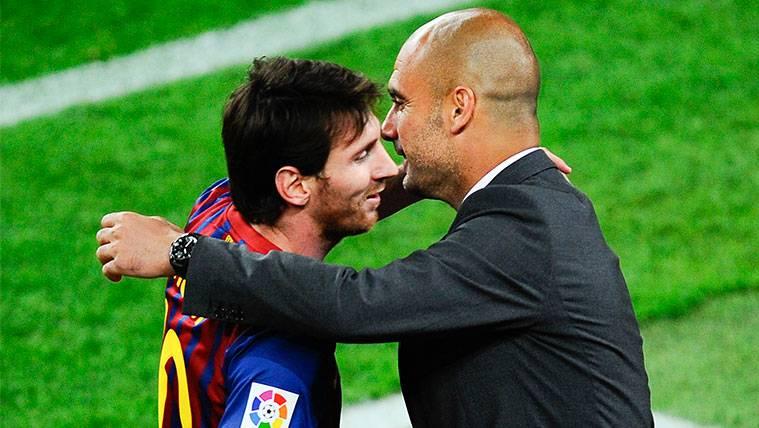 """Guardiola: """"Messi es capaz de hacer mejores a todos los que le rodean"""""""