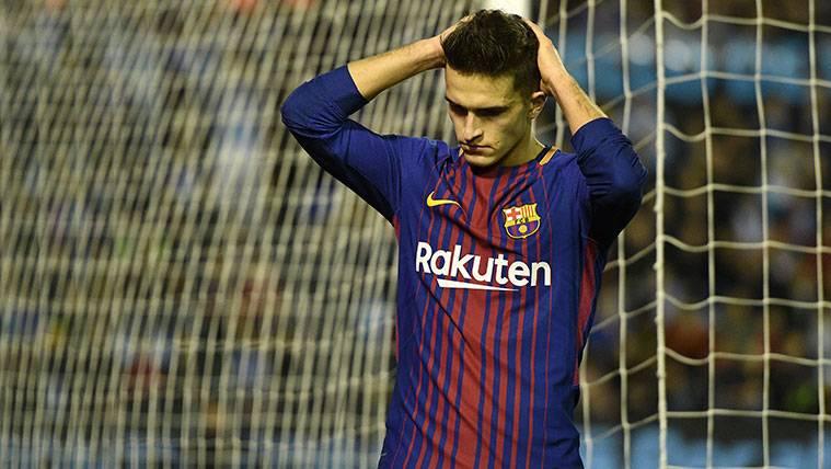 ¡Denis Suárez se retira lesionado del partido del FC Barcelona!
