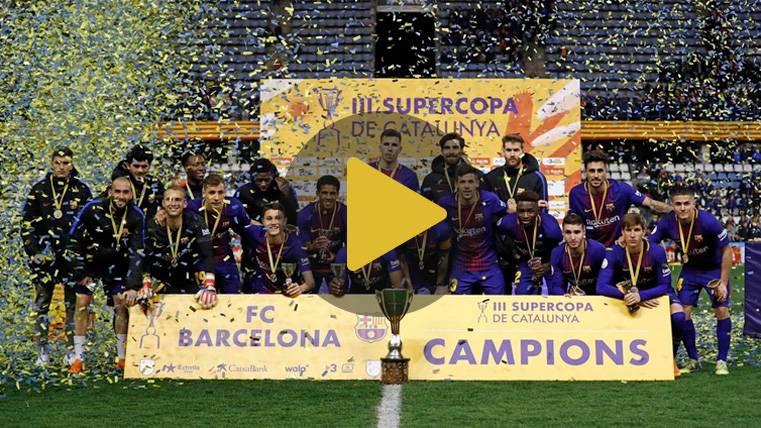El Barça se lleva la Supercopa de Catalunya en los penaltis