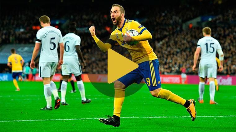 La experiencia de la Juventus le 'roba' el pase al Tottenham
