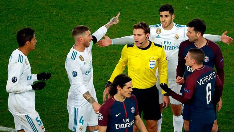 Sergio Ramos, récord de tarjetas en la historia de la Champions
