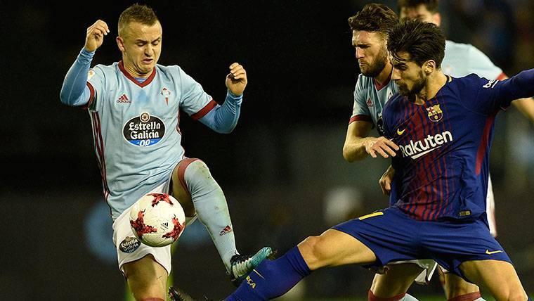 André Gomes se lo juega todo a una carta en el FC Barcelona
