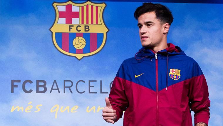 ¡Philippe Coutinho ya ejerce de anfitrión en el FC Barcelona!