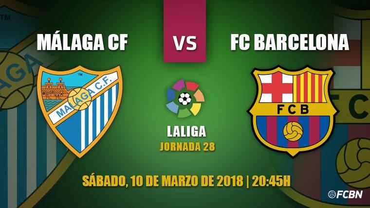 El Málaga, último obstáculo del Barça antes del Chelsea