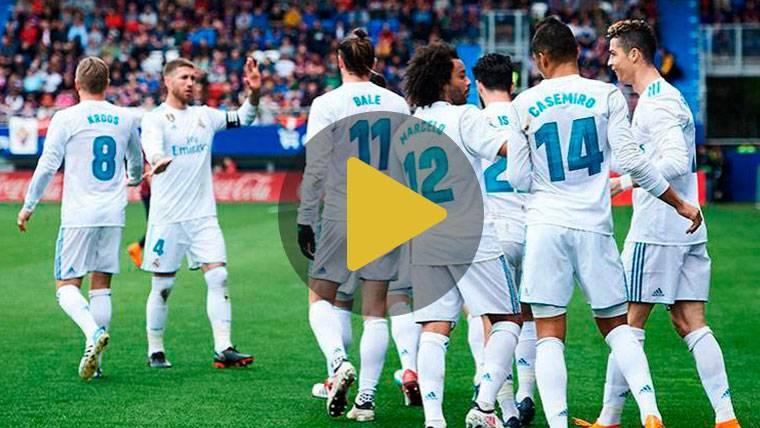 Doblete de Cristiano (1-2) para rescatar al Real Madrid en Ipurúa