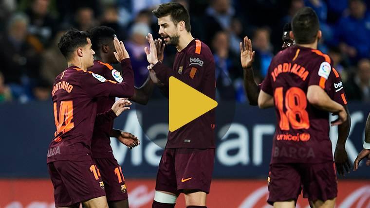 Vídeo resumen: Málaga 0 FC Barcelona 2 (LaLiga J28)