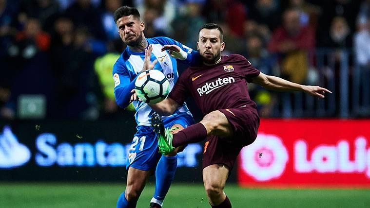 Samuel García se disculpó públicamente con Jordi Alba tras su entrada
