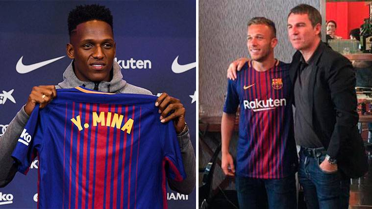 Yerry Mina Or Arthur A Cession For The Sake Of The Fc Barcelona