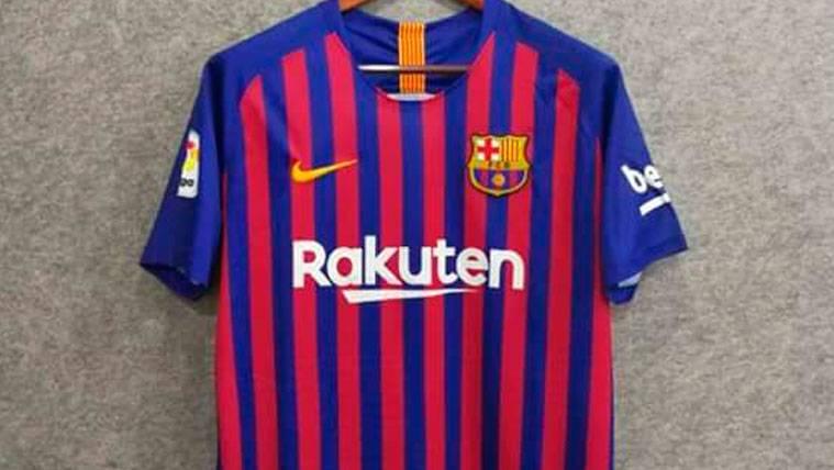 La posible camiseta del FC Barcelona para la temporada 2018-19   Footy Headlines
