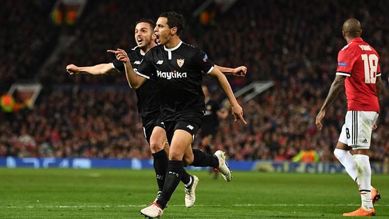 ¡El Sevilla elimina al Manchester United de Mourinho en Champions (1-2)!