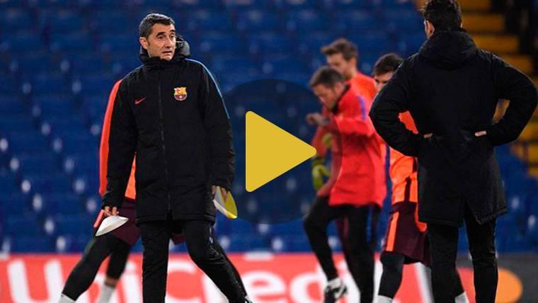 Lista de convocados de Valverde para el Barcelona-Chelsea