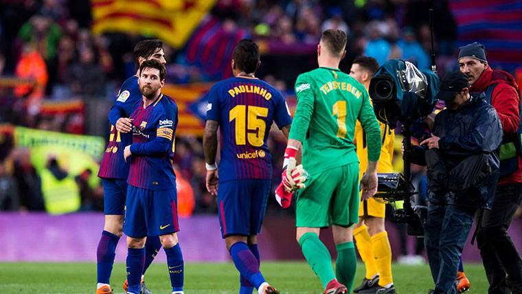 Messi, otro de los grandes aliados de André Gomes en el Barça