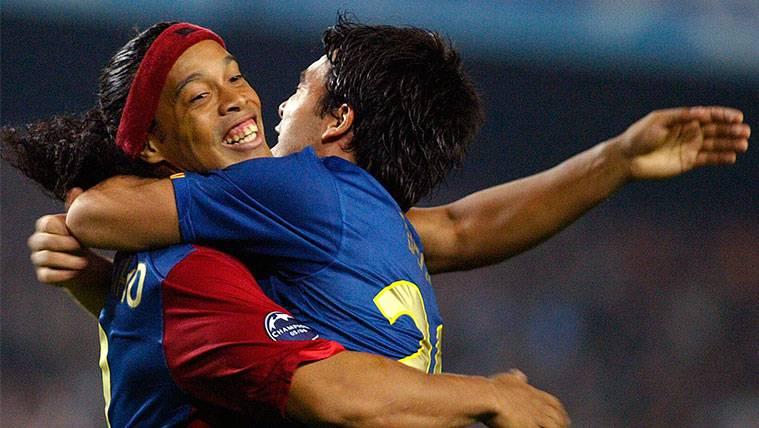 Ronaldinho, el mejor apoyo para el FC Barcelona-Chelsea