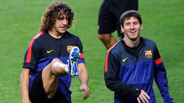 El elogio de Carles Puyol que señala la grandeza de Leo Messi