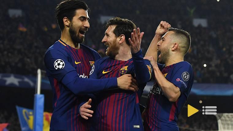 Vídeo resumen: FC Barcelona 3 Chelsea 0 (Vuelta 1/8 Champions League)