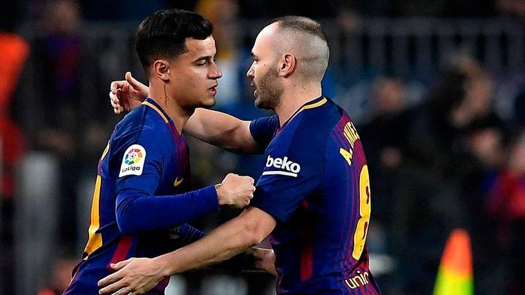 Coutinho, Arthur y Aleñá: Los relevos de Iniesta en el Barça
