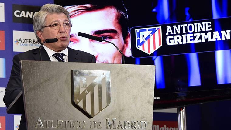 """Cerezo, sobre Griezmann y su 'fuga' al Barça: """"Me sorprendería"""""""