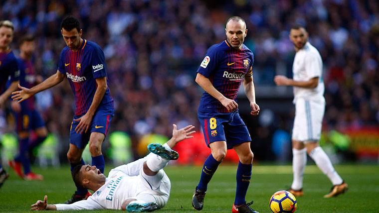 La afición del Barça quería al Madrid en cuartos de Champions