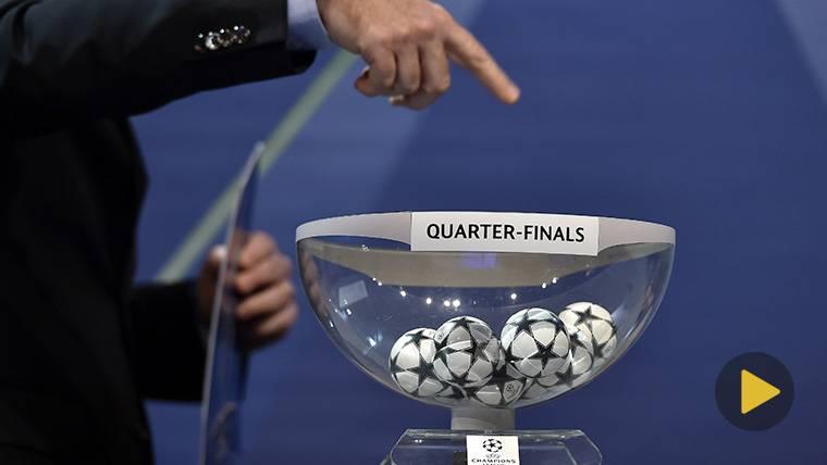 EN DIRECTO: Sigue el sorteo de cuartos de Champions League
