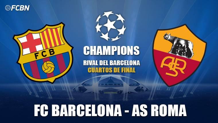 El Barcelona se enfrentará a la Roma en cuartos de Champions - FC ...
