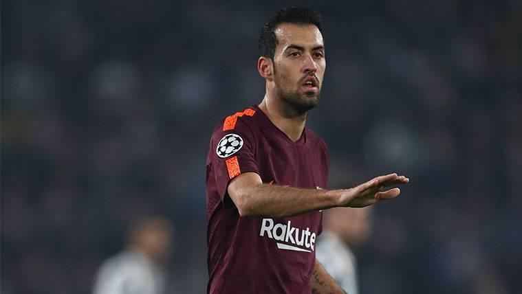 El Barça está preparado para superar la ausencia de Sergio Busquets