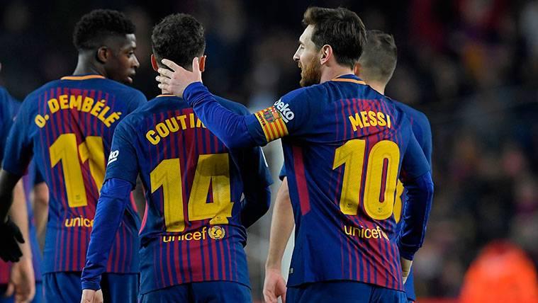 El FC Barcelona podría estrenar otro tridente contra el Athletic