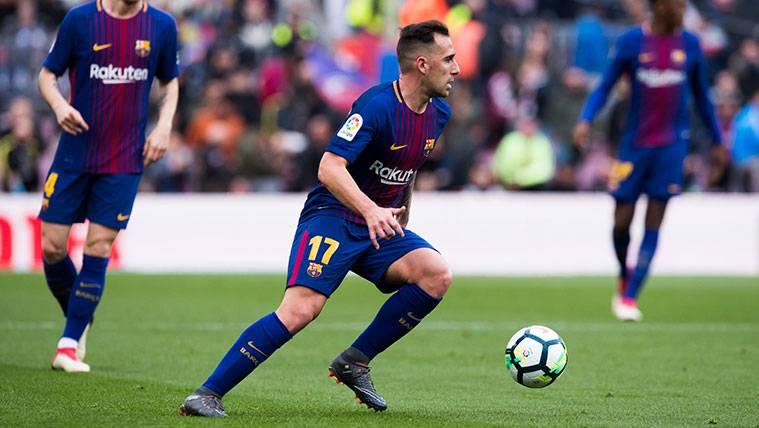 Sin Luis Suárez, Paco Alcácer quiere ser titular en el Barça