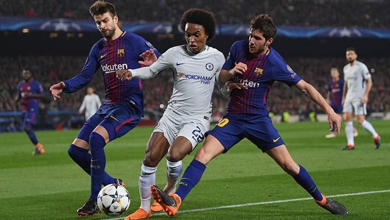 El motivo que ha dejado a Sergi Roberto fuera de la selección española