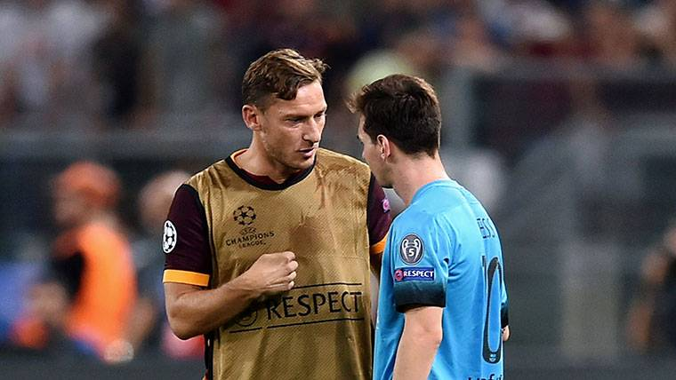 Totti podrá cumplir lo que le prometió a su hijo sobre Messi