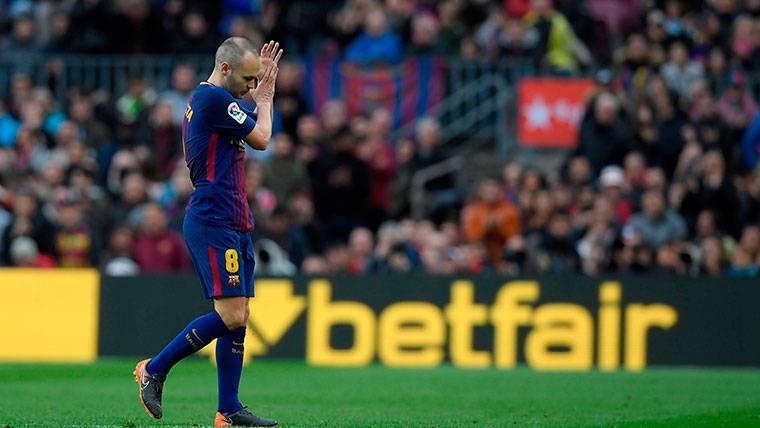 16 partidos del Barça 2017-18 para despedirse de Iniesta
