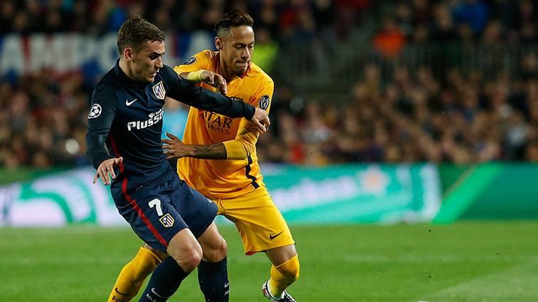 La última vacilada de Antoine Griezmann a Neymar