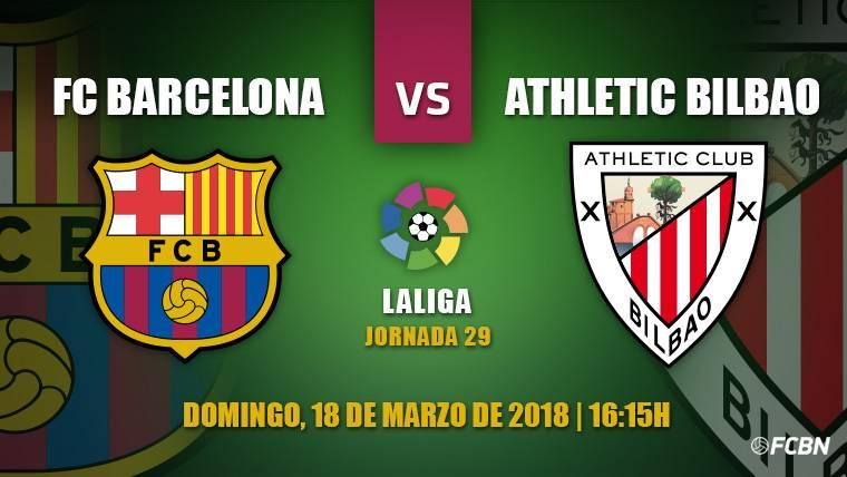 El Barça aparca la Champions League para recibir al Athletic Club en Liga