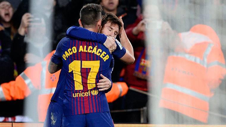 Paco Alcácer tardó 8 minutos en marcar al Athletic de Bilbao