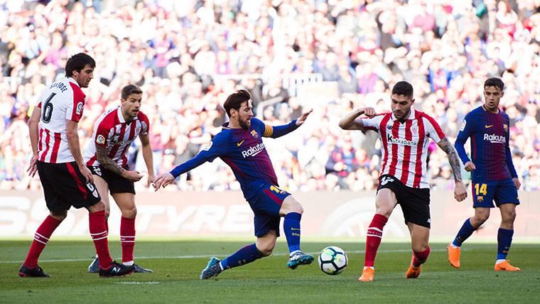 Messi sigue en racha: ¡Pase de Dembélé y golazo desde lejos!