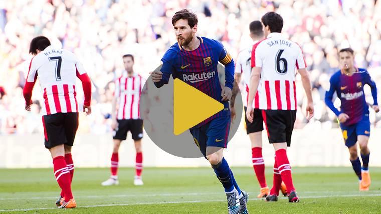 Vídeo resumen: FC Barcelona 2 Athletic Club 0 (LaLiga J29)