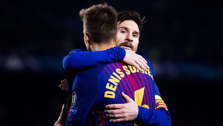 Denis Suárez luchará por seguir en la plantilla del Barcelona