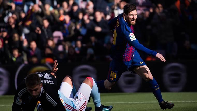 """""""El Barcelona tiene a un extraterrestre llamado Messi"""""""